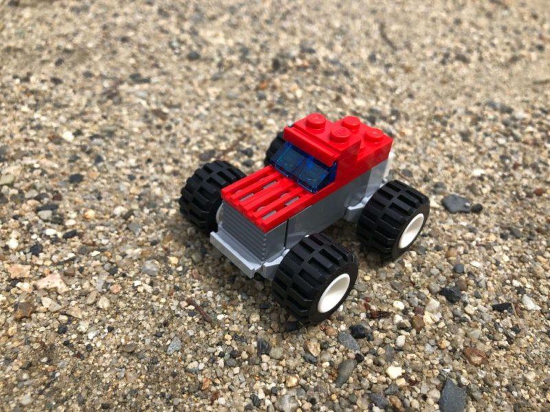 レゴ体験会で作った車