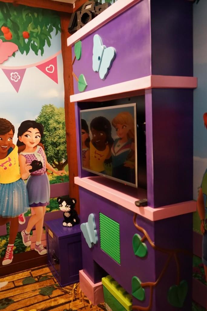 レゴランドホテルのプレミアムフレンズの子供部屋
