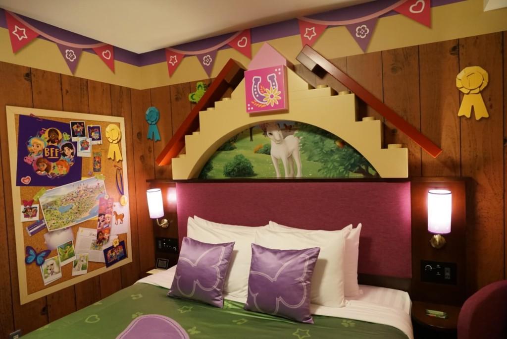 レゴランドホテルのプレミアムフレンズの部屋