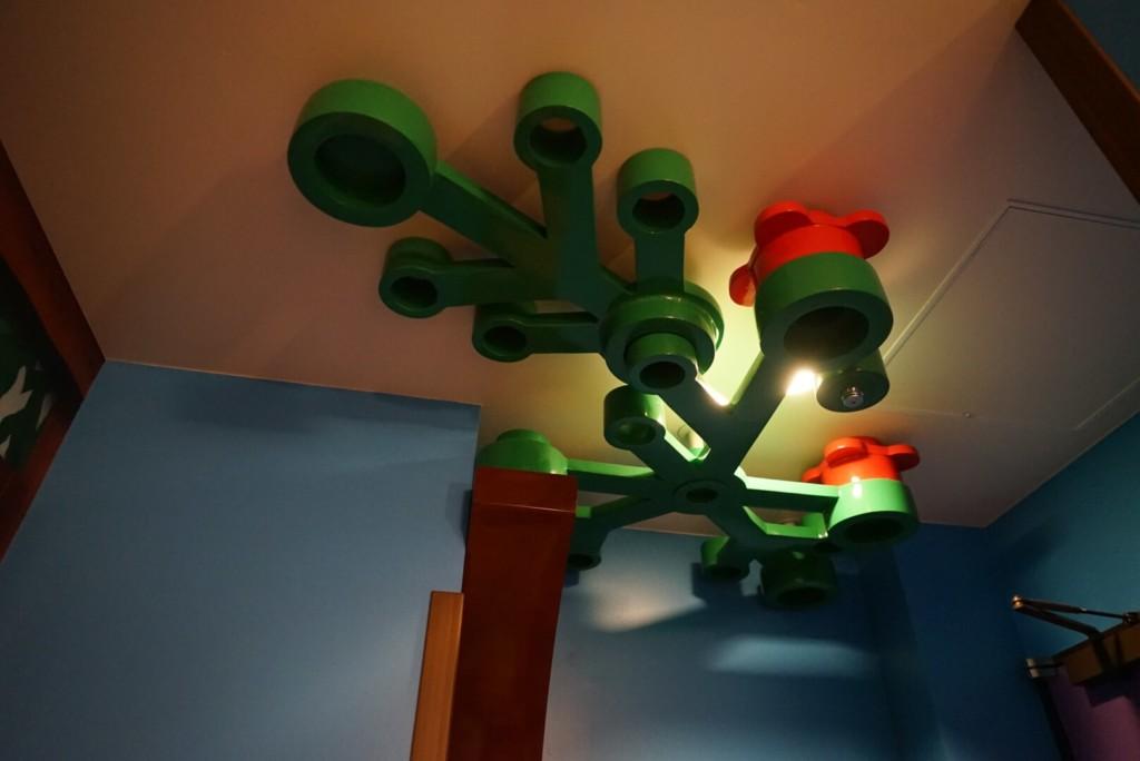 レゴランドホテルのプレミアムフレンズの部屋の様子