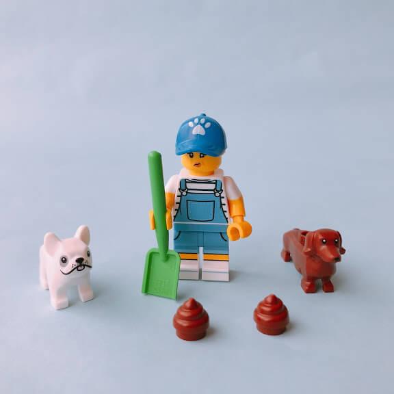 レゴミニフィグシリーズ19 Dog Sitter(ドッグシッター)
