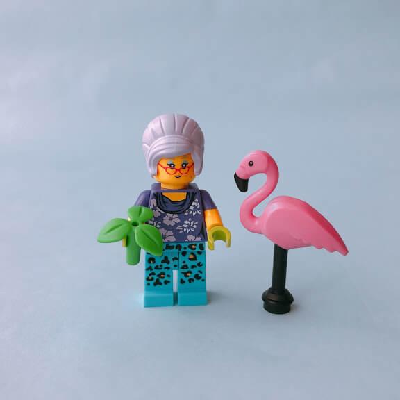 レゴミニフィグシリーズ19 Gardener(庭師)