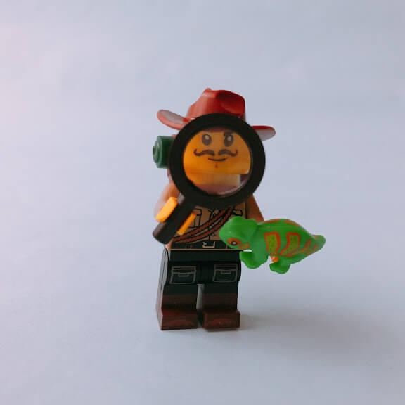 レゴミニフィグシリーズ19 Jungle Explorer(ジャングル探検家)