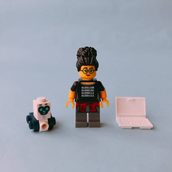 レゴミニフィグシリーズ  Programmer(プログラマー)