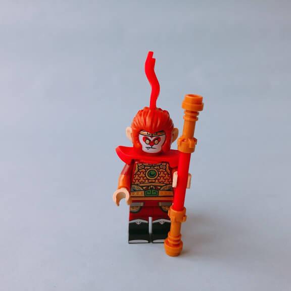 レゴミニフィグシリーズ19 Monkey King(サルの王様)