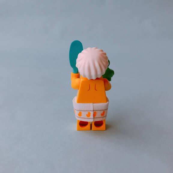 レゴミニフィグシリーズ19 Shower Guy(シャワーをしている男性)