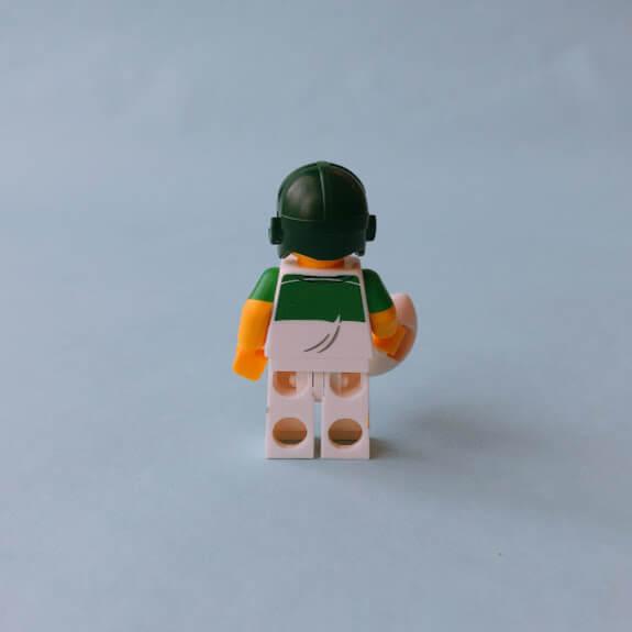 レゴミニフィグシリーズ19 Rugby Player(ラグビー選手)