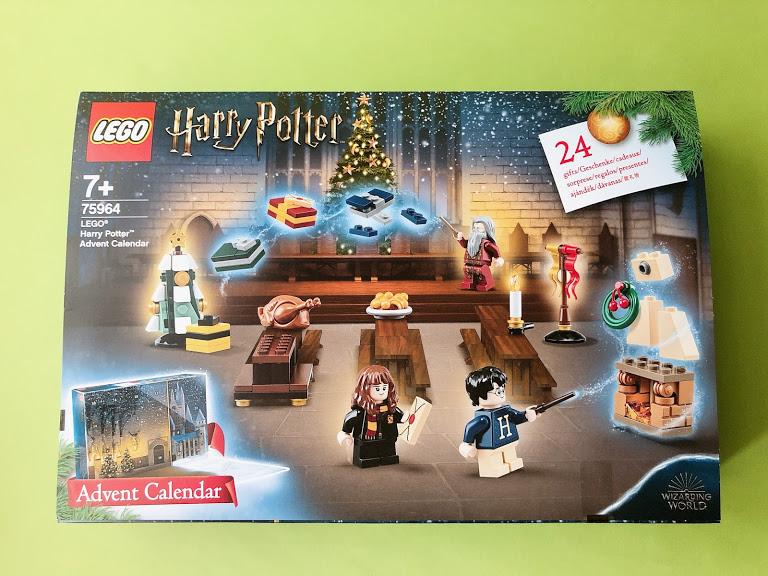 レゴアドベントカレンダー ハリーポッター75964の外箱