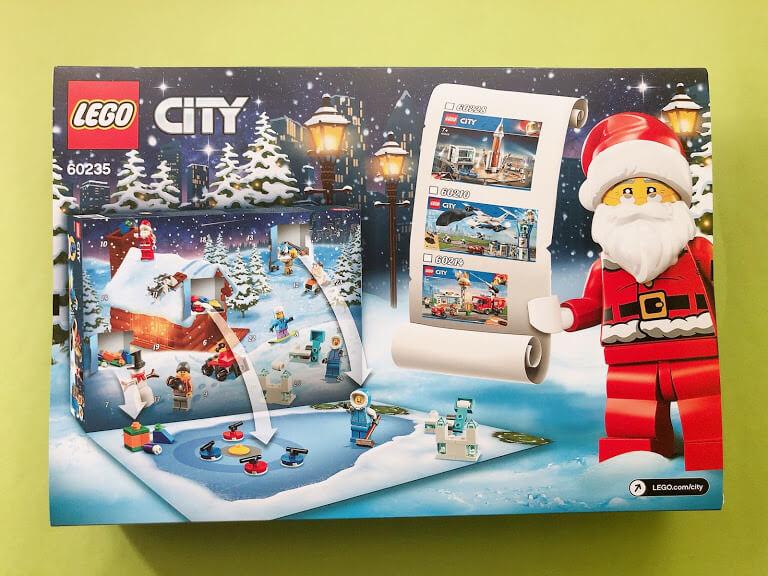 2019年レゴアドベントカレンダー シティ 60235の外箱