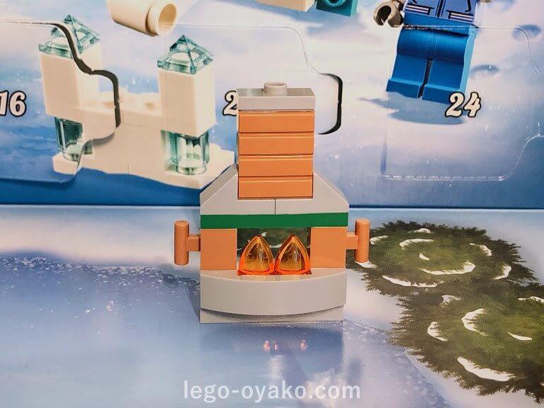 レゴアドベントカレンダーシティ60235の中身