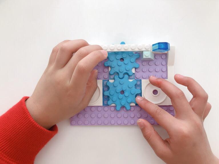レゴ41168エルサのジュエリーボックスの組み立て