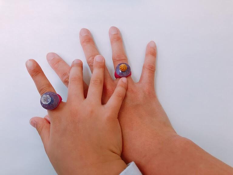 レゴ41168エルサのジュエリーボックスの指輪