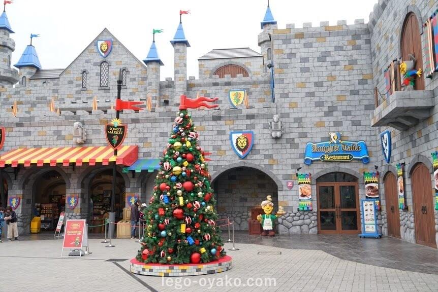 レゴランドジャパンのクリスマス フォトスポット