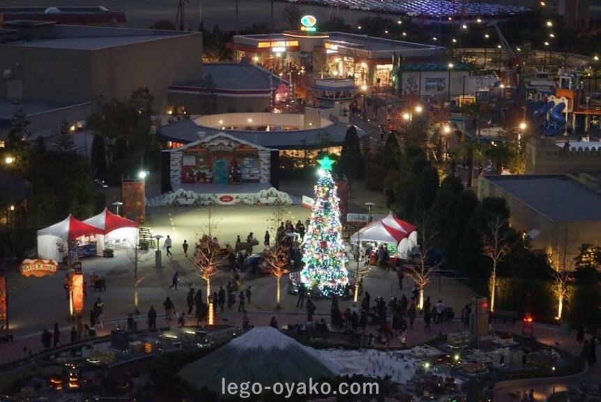 レゴランドジャパンのクリスマス 見どころ