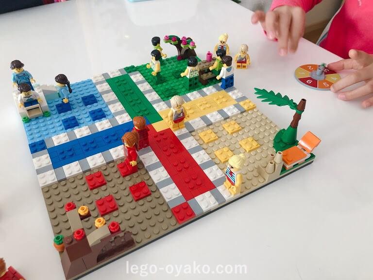 レゴのLUDOGAME(ルド―ゲーム)40198で遊ぶ
