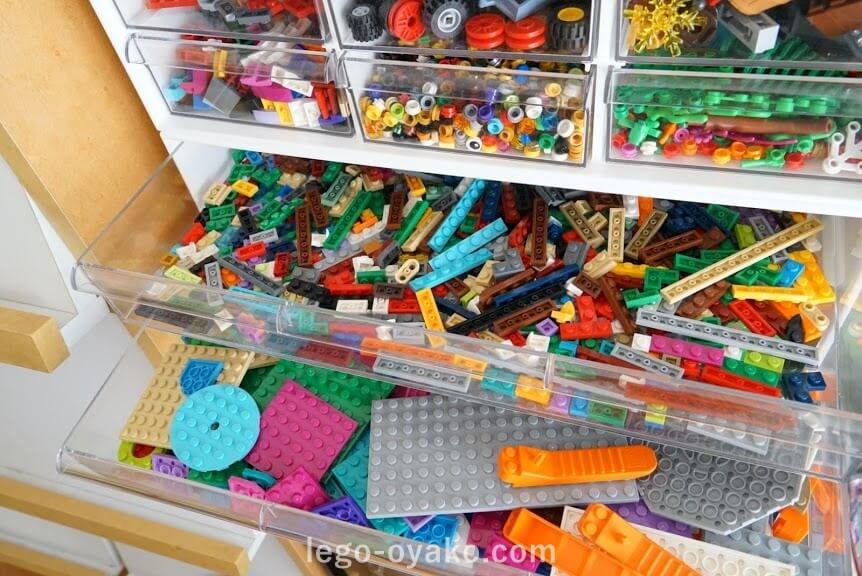 レゴ収納のアイデア・ニトリのレターケース