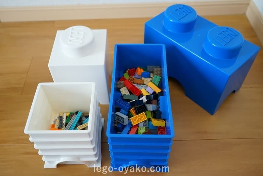 レゴ収納のアイデア