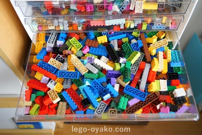ニトリのワイド収納ケースでレゴの収納