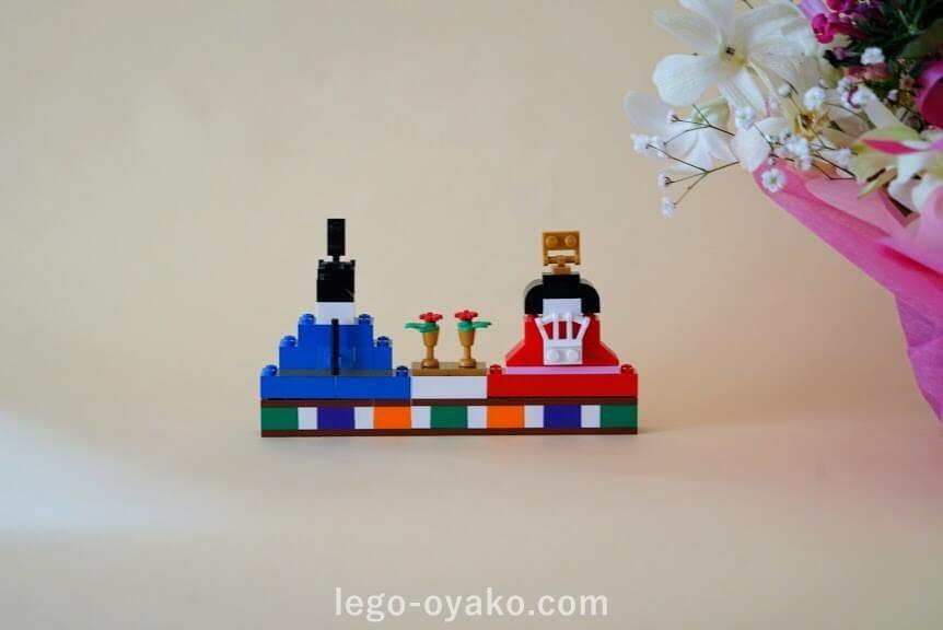 レゴで作る雛人形