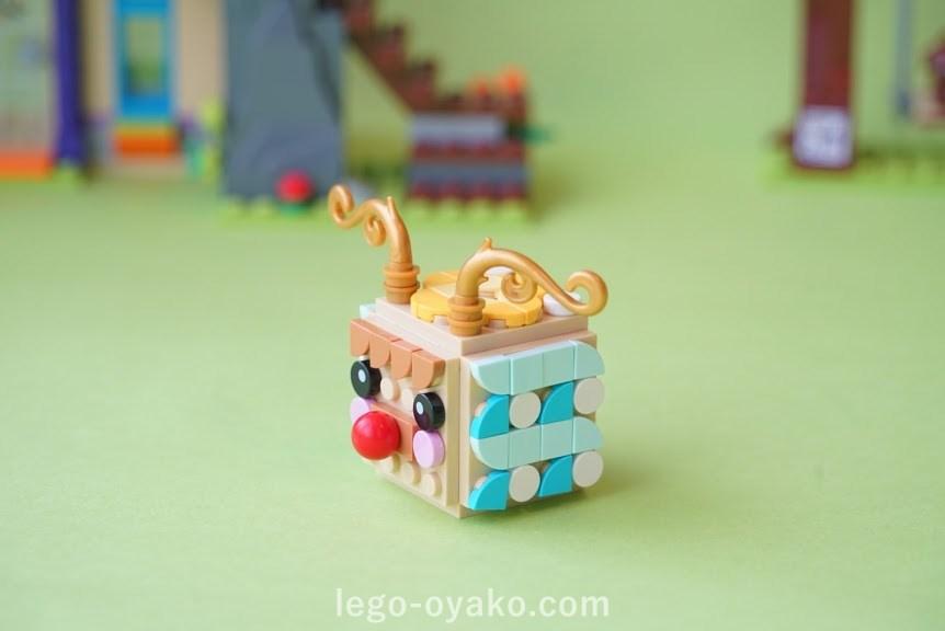「レゴ ドッツどうぶつフォトスタンド 41904」のアレンジ作品例 トナカイ