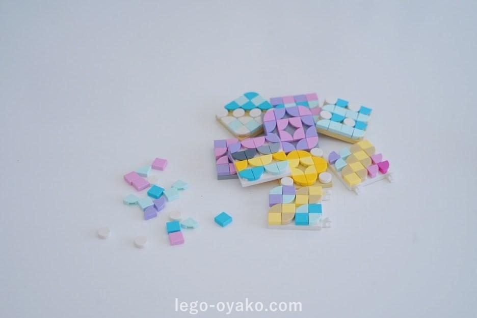 レゴ ドッツのデザイン例