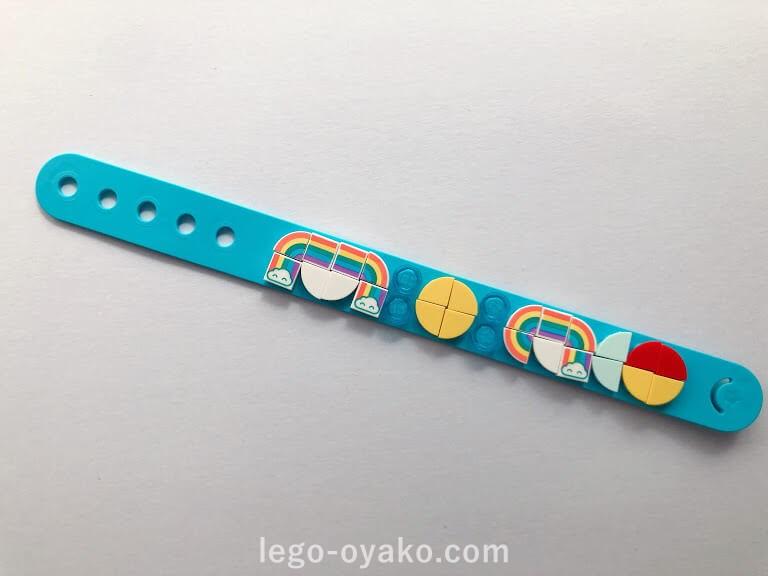 レゴ ドッツ レインボーブレスレット41900の作品例