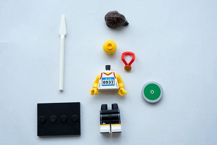 レゴ ミニフィギュアシリーズ20(71027)11.アスリート(Athlete)
