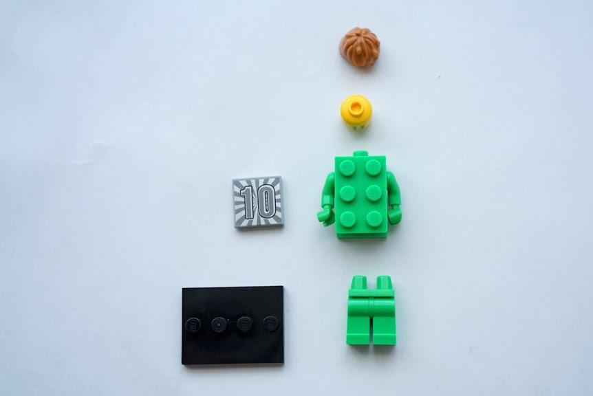 レゴ ミニフィギュアシリーズ20(71027)13.LEGOブロックコスプレイヤー(Brick Costume Guy)