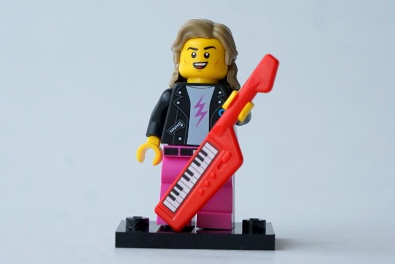 レゴ ミニフィギュアシリーズ20(71027)14.80年代のミュージシャン(80s Musician)