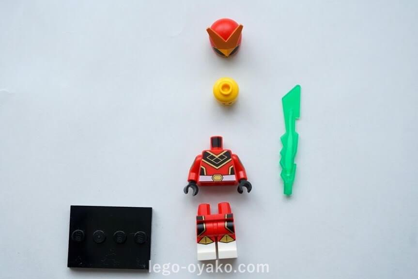 レゴ ミニフィギュアシリーズ20(71027)9.戦隊ヒーロー(Super Warrior)
