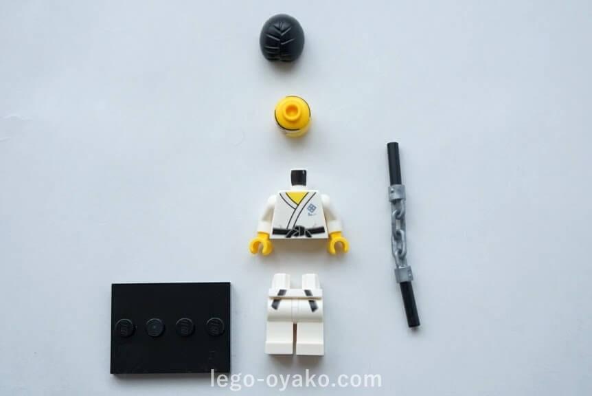 レゴ ミニフィギュアシリーズ20(71027)10.ヌンチャクを持った男(Nunchuck Guy)
