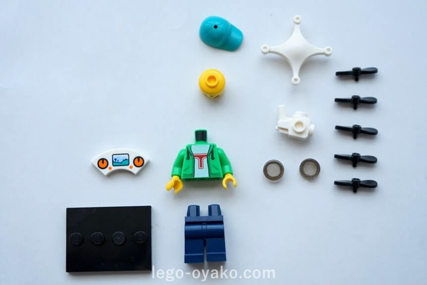 レゴ ミニフィギュアシリーズ20(71027)16.ドローン男子(Drone Boy)