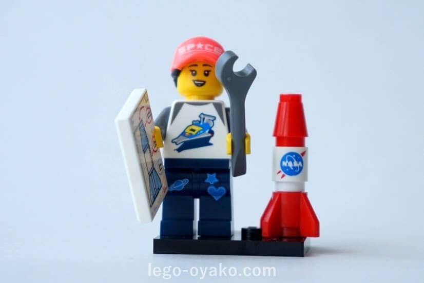 レゴ ミニフィギュアシリーズ20(71027)6.宇宙ファン(Space Fan)