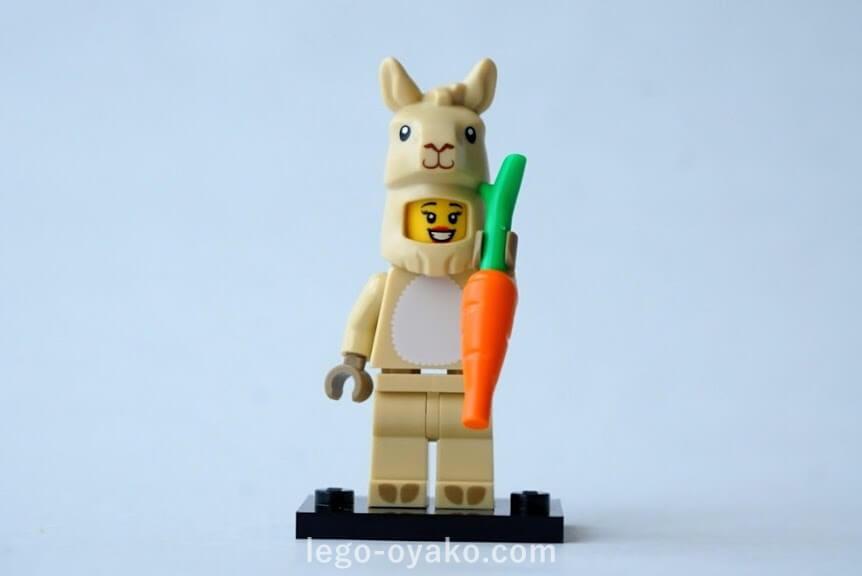 レゴ ミニフィギュアシリーズ20(71027)7.ラマコスプレイヤー(Llama Costume Girl)