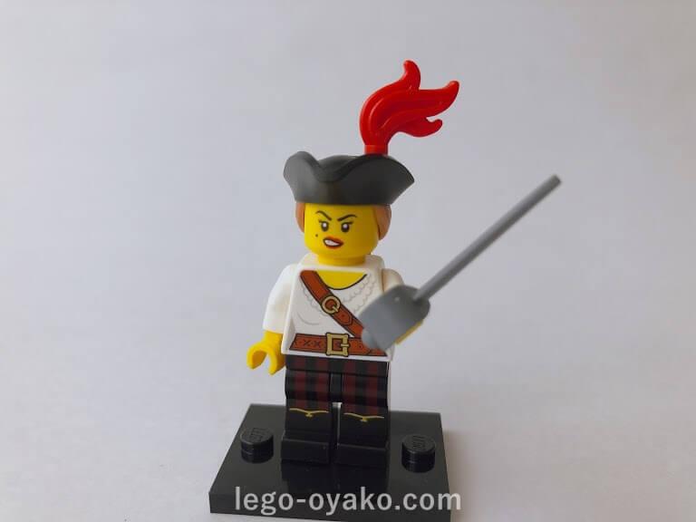 レゴ ミニフィギュアシリーズ20(71027)5.女海賊(Pirate Girl)
