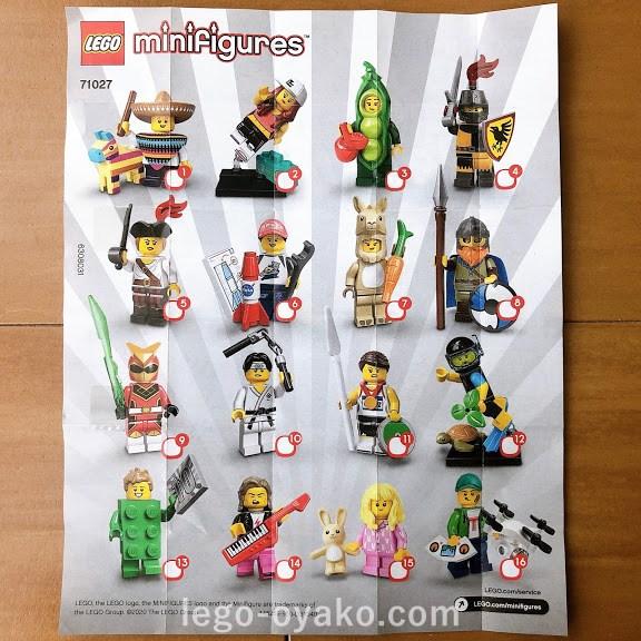 レゴ ミニフィギュアシリーズ20(71027)