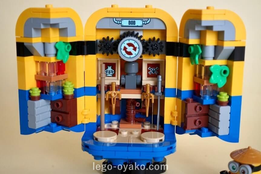レゴ ミニオンと秘密基地75551のレビュー 基地の中身