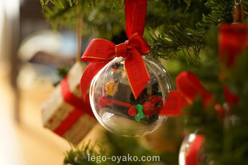 レゴのクリスマスオーナメント