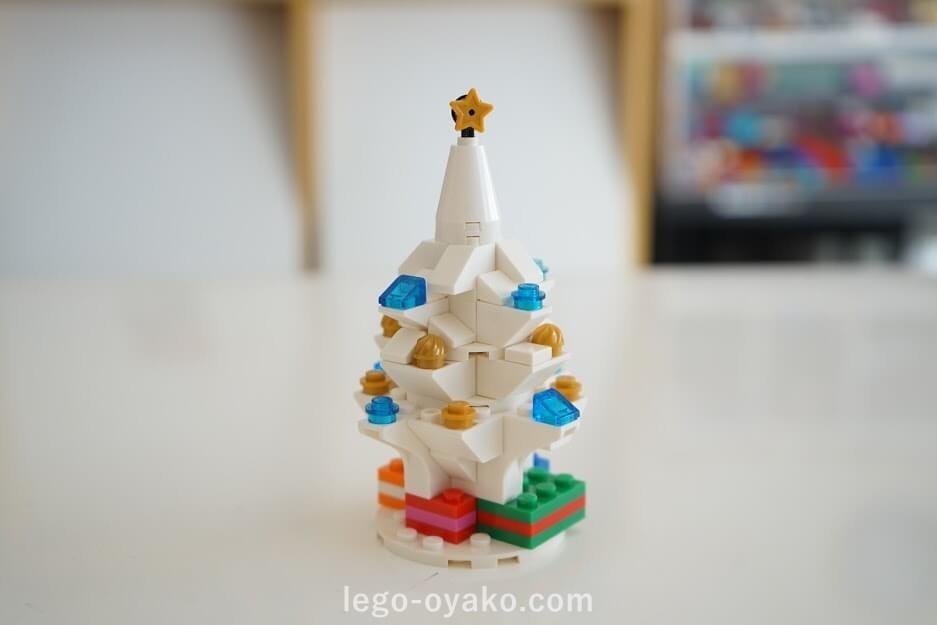レゴのクリスマスの作り方 30186のアレンジ