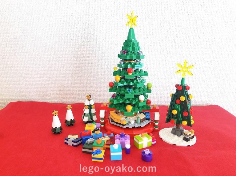 レゴで作ったクリスマス