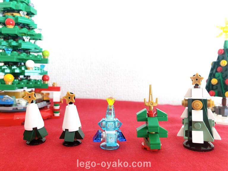 レゴで作るクリスマスツリーのアイデア