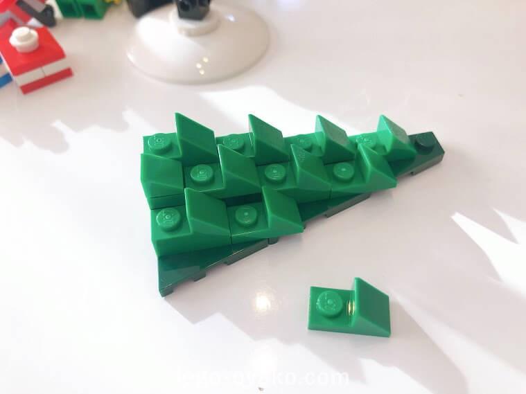 レゴ(LEGO) クリスマス・ウィンター・ビレッジ エルフのクラブハウス 10275のレビュー トナカイとそり