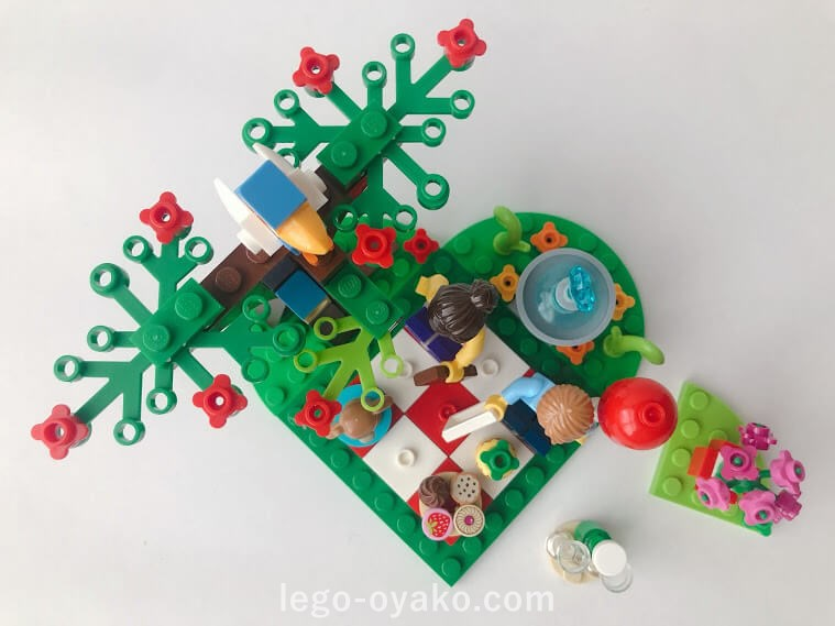 レゴ バレンタイン・ピクニック40236のレビュー