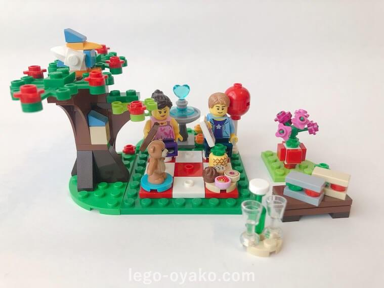 レゴ バレンタイン・ピクニック40236