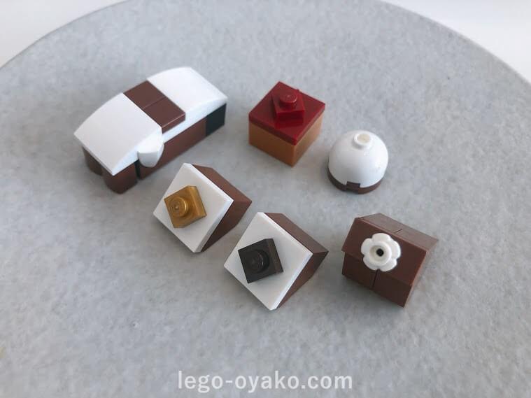 レゴで作るチョコレート