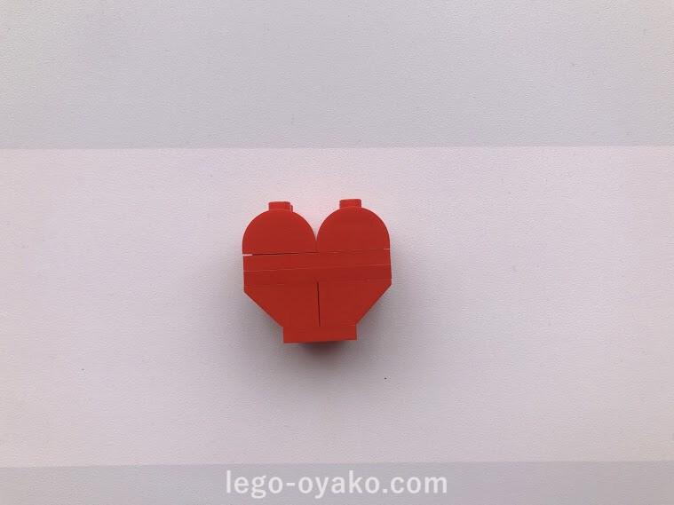 レゴ ハートの作り方