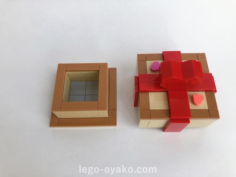 レゴで作ったボックス(箱)