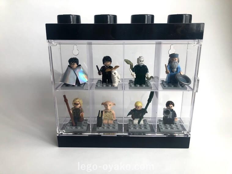 レゴ ミニフィグの収納 ケースに入れる