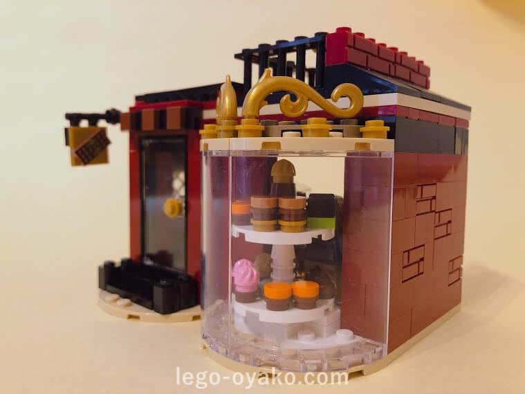 レゴで作ったチョコレート屋さん
